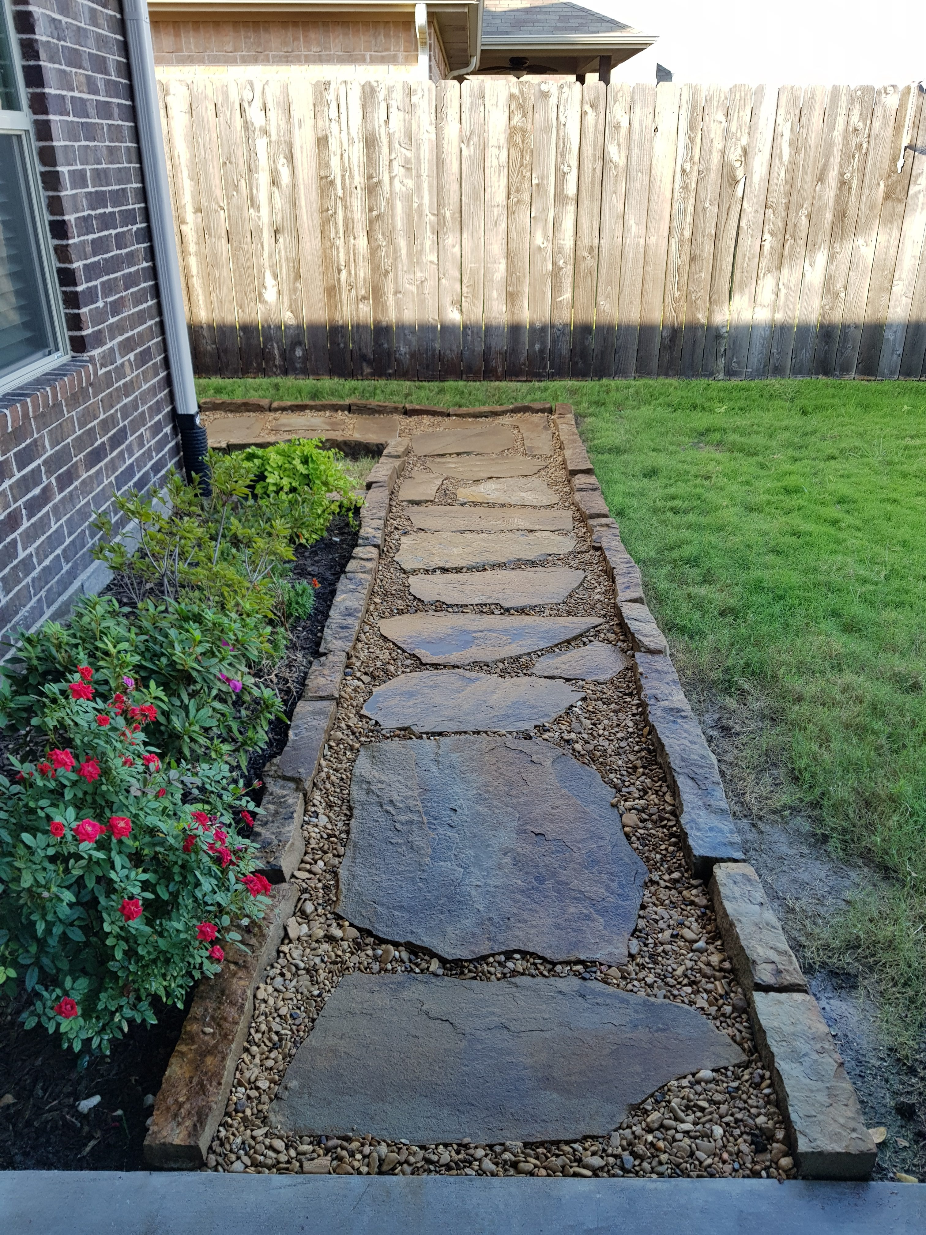 Flagstone Walkway Greenville